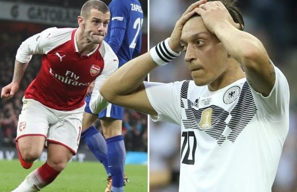 Arsenal sacrificing Jack Wilshere and indulging Mesut Ozil is ultimate humiliation for a Gunner with the club in his blood