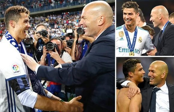 Ronaldo leads player tributes to Real Madrid manager Zidane after shock resignation