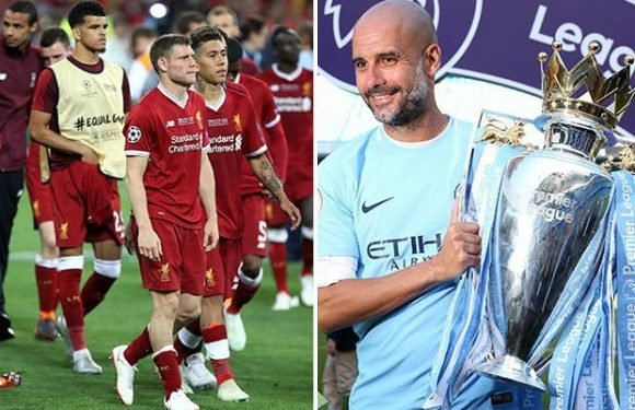 Manchester City could land DOUBLE Liverpool's earnings if they reach next season's Champions League final