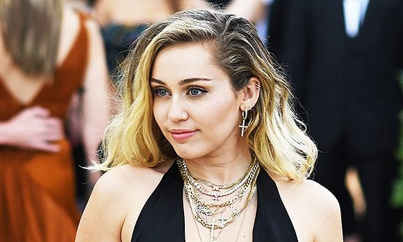 Stars Wearing Plunging Necklines To Their Stomachs — Miley Cyrus, Demi Lovato & More