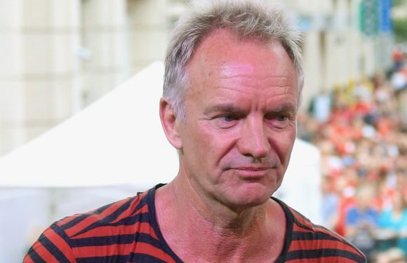Sting rips 'coward' world leaders for refugee crisis