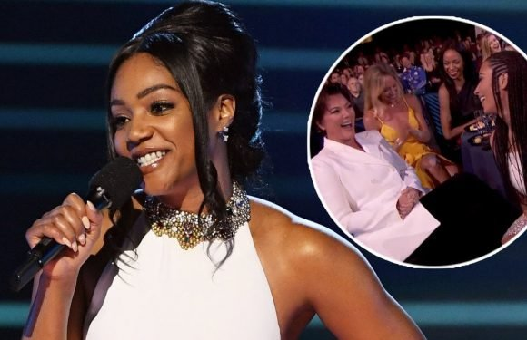 Tiffany Haddish Hits on Chris Pratt, Michael B. Jordan, Roasts Kardashians at MTV Movie And TV Awards
