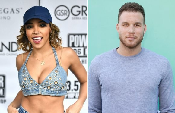 Tinashe and Blake Griffin hang out in Las Vegas