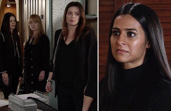 Coronation Street's Sair Khan reveals she was left 'scared and shaking' after vicious fight scenes with co-star Ali King