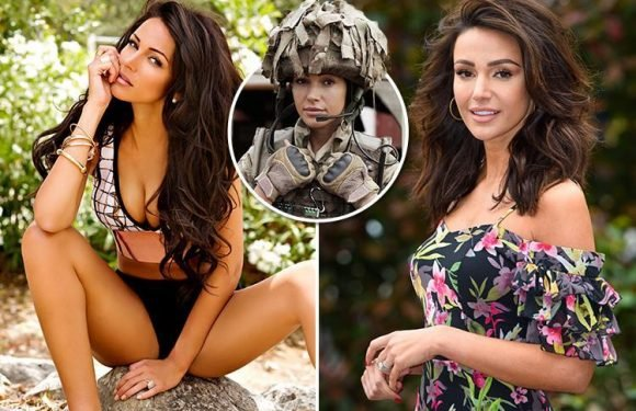Our Girl star Michelle Keegan strips for steamy calendar shoot
