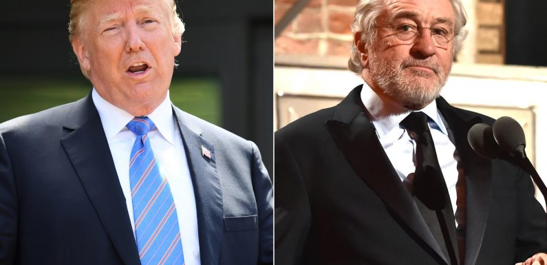 Trump responds to 'Low IQ,' 'Punchy' Robert De Niro over Tonys F-bomb