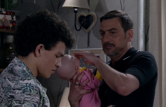 Coronation Street fans fear Eva Price's baby secret will out after Peter Barlow gets suspicious
