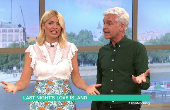 This Morning's Holly Willoughby slams Love Island's Adam Collard's behaviour and invites his family onto the show to discuss his actions