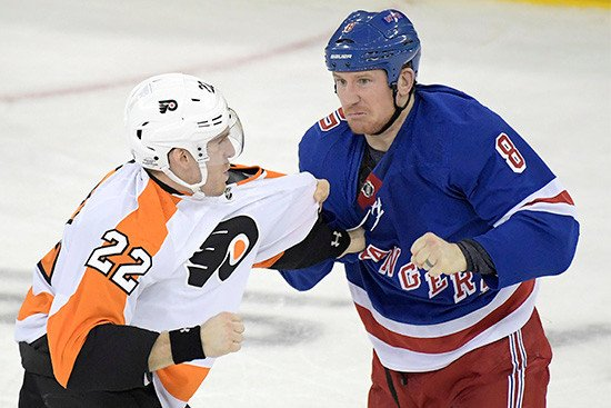 History shows Rangers may have wrong man to fill enforcer role