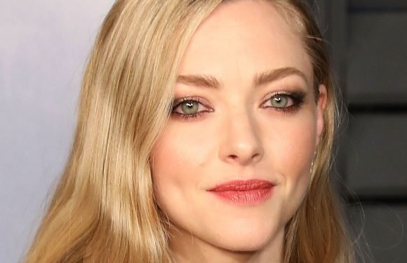 Amanda Seyfried Wears Makeup with Eye Infection to 'MM 2' Premiere