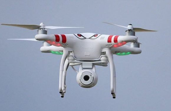 Illegal drone came within 10ft of crashing into plane at Luton AIrport