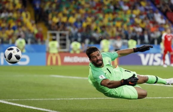 Liverpool sign goalkeeper Alisson for world record fee