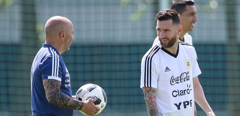 Details emerge of Lionel Messi's explosive World Cup row with Jorge Sampaoli