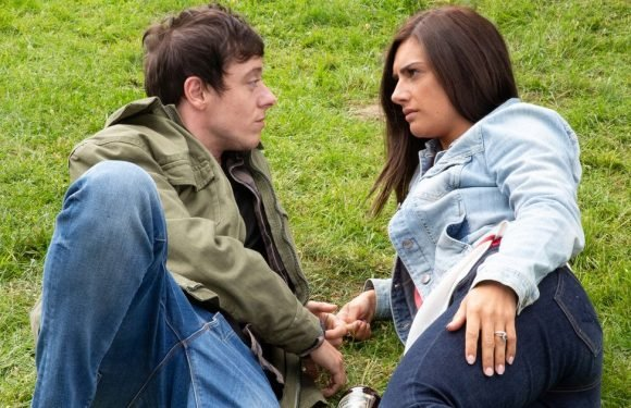 Victoria shocked as she realises she fancies her ex's brother Matty on Emmerdale