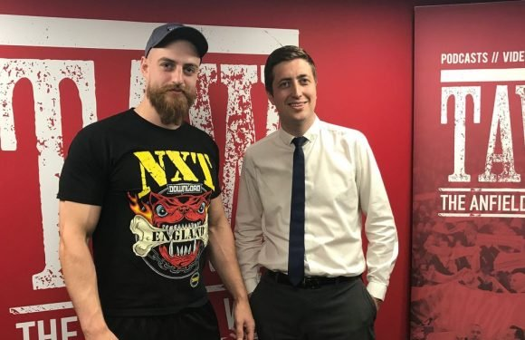 NXT UK star and LFC fan Zack Gibson aims to be first British WWE Champion