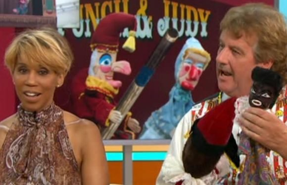Kate Garraway tells guest to remove 'racist' puppet during Punch and Judy debate