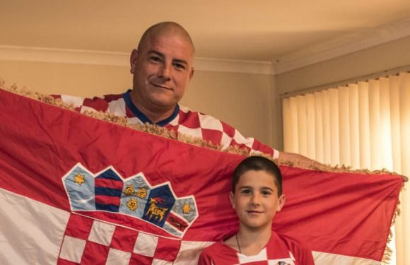 First World Cup final forces hand of Croatian faithful