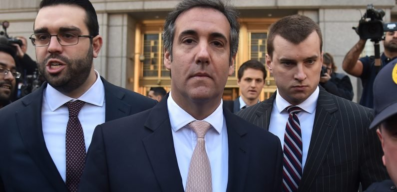 Feds have more than 1 million of Michael Cohen's files