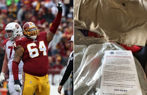 Giants newcomer goes off on TSA for spilling mom's ashes