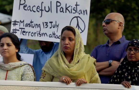 In Pakistan, even the terrorists can become politicians