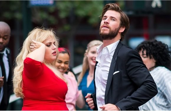 These Pics of Liam Hemsworth and Rebel Wilson Dancing Are the Monday Pick-Me-Up You Need