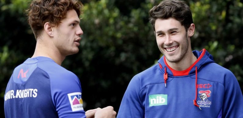 Meaney's NRL debut a good thing for Dogs and Knights, says Brown