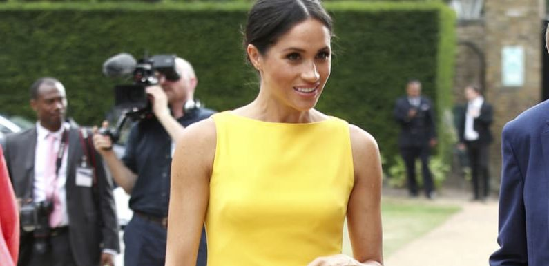 Meghan makes her fashion Markle in 'Gen Z yellow'
