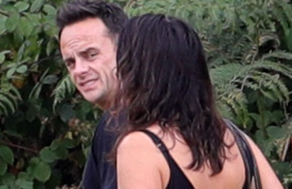 Ant McPartlin looks tired and drained as he makes rare appearance
