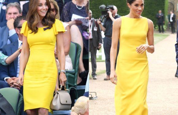 Kate Middleton Channeled Meghan Markle's Sunny Style at Wimbledon: See the Photos!