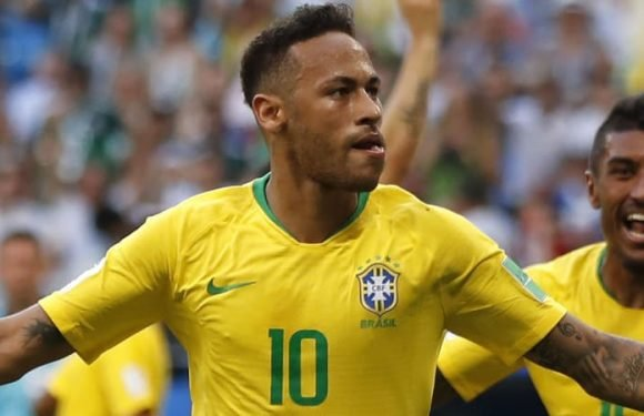 Neymar shines as Brazil beat Mexico