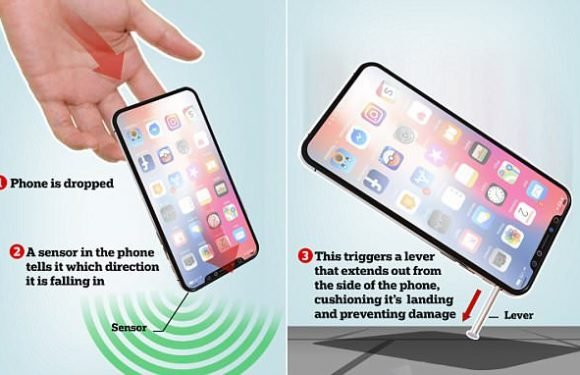 Next iPhone could use 'shock absorbers' to prevent cracked screens