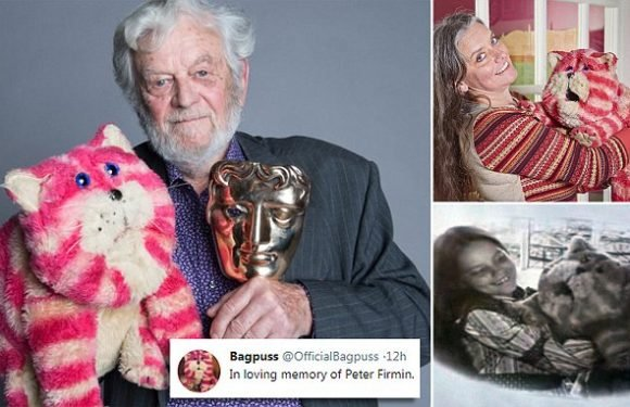 Bagpuss creator Peter Firmin was inspired by his daughter Emily