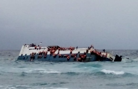 Ferry carrying 140 people sinks in Indonesia, killing at least six