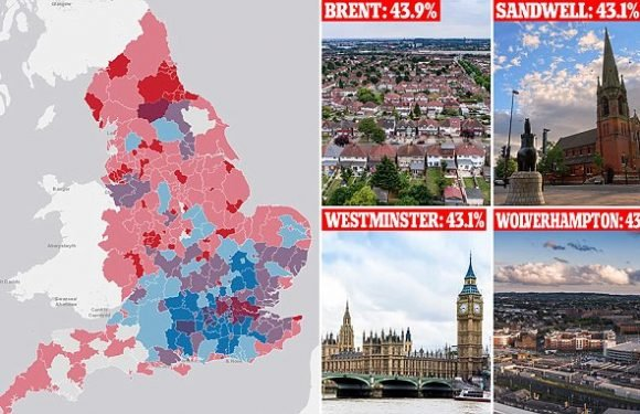 England's childhood obesity crisis is exposed in interactive map