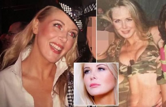 Ex-glamour model was found hanged by her son, 12