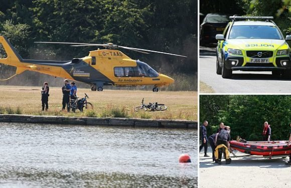 Boy, 16, dies after being pulled from local country park lake