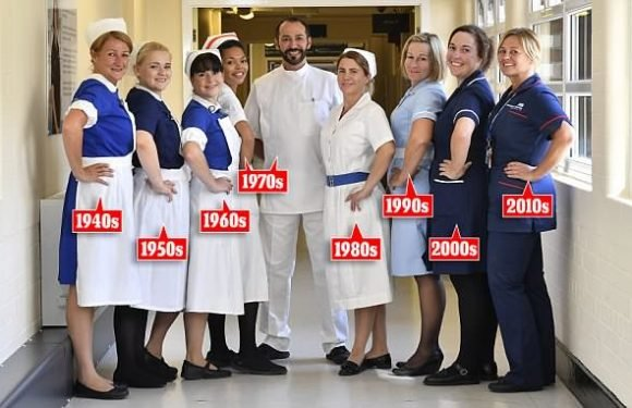 Nurses scrub up to celebrate 70 years of caring on NHS anniversary