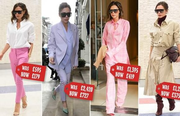 After her losses double Victoria Beckham slashes prices by up to 70%