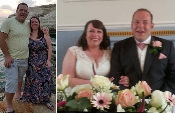 Newlywed bride devastated after groom dies of lung cancer on honeymoon