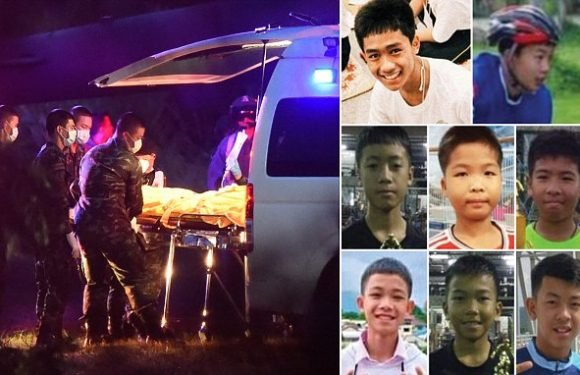 Final four Thai cave boys and coach are in 'good health'