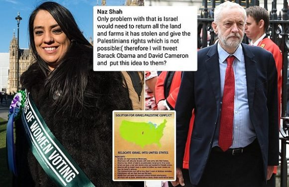 Naz Shah – suspended in anti-Semitism row – has Shadow Equalities role