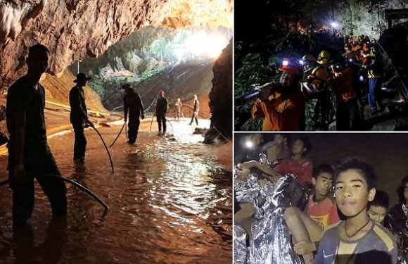 Thai cave boys rescue nearly ended in disaster when pumps FAILED