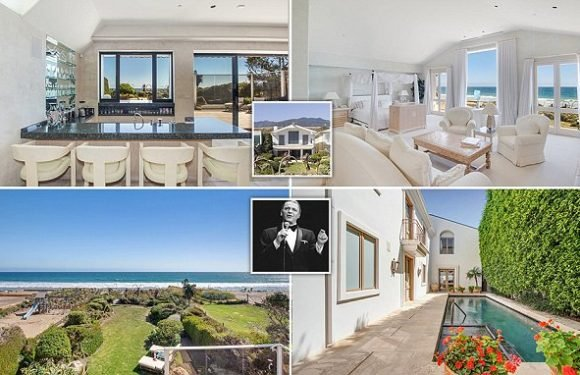 Frank Sinatra's former Malibu home can be rented for$110,000 pr month
