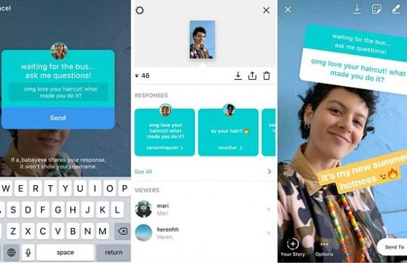Instagram Stories now includes a question sticker