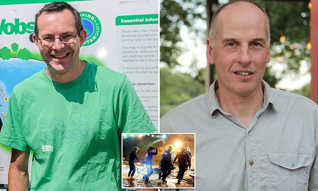 'We're no heroes': British divers who rescued trapped Thai boys