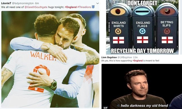 How to recycle Three Lions flag: Internet wags put boot into England