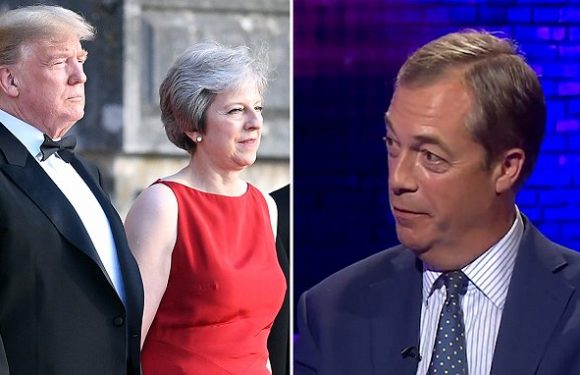 Nigel Farage was a 'guiding spirit' to Donald Trump's Brexit outburst