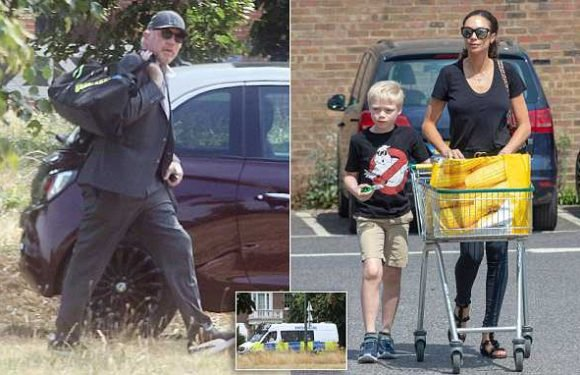 Lilly Becker seen after police called to row between her and Boris