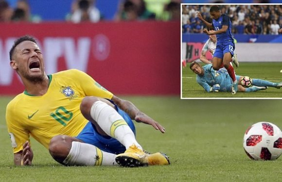 Footballers who feign injury use the same technique as early humans