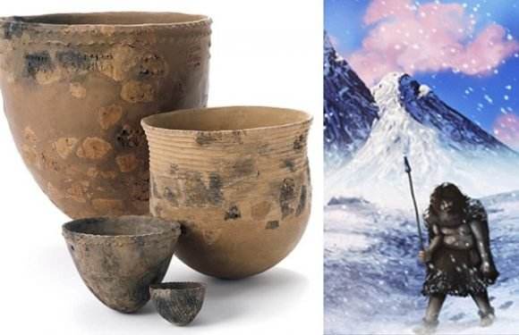 Pottery was created by early man after a surge in heavy fishing